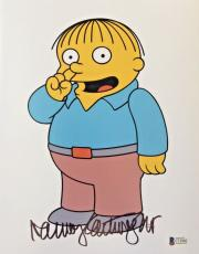 NANCY CARTWRIGHT Signed The Simpsons Ralph Wiggum Autographed 11x14 Photo BAS A