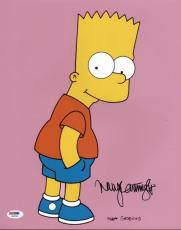 Nancy Cartwright The Simpsons Signed 11X14 Photo PSA/DNA #X09236