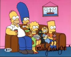 Nancy Cartwright The Simpsons Signed 8X10 Photo BAS #B89284