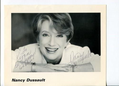 Nancy Dussault Too Close for Comfort New Dick Van Dyke Sh Signed Autograph Photo