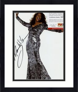 Nancy Wilson Supremes Recording Artist Signed 8x10 Photo W/coa Psa X57127
