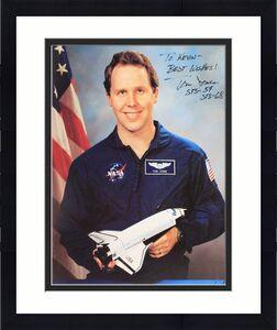 Autographed Thomas Jones Photograph - NASA 8x10 Official