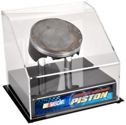 NASCAR Race-Used Piston with Display Case - Mounted Memories