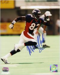 Marcus Nash Denver Broncos Autographed 8x10 Photograph - Mounted Memories