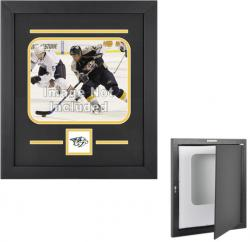 Nashville Predators Horizontal 8'' x 10'' Photo Display Case - Mounted Memories