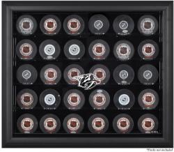 Nashville Predators 30-Puck Black Display Case