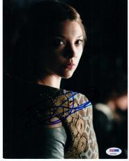 Natalie Dormer Game of Thrones signed 8x10 photo PSA/DNA Margaery Tyrell Queen