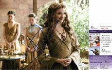 Natalie Dormer Signed - Autographed Game of Thrones 8x10 Photo - Margaery Tyrell - JSA Certificate of Authenticity