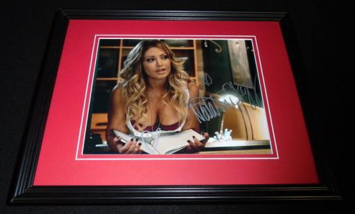 Natalie Skyy Signed Framed 8x10 Photo AW Sons of Anarchy