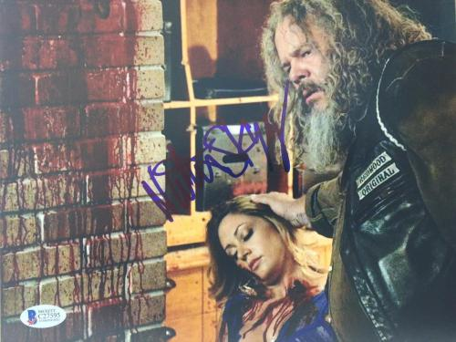"Natalie Skyy Signed ""Sons of Anarchy"" 8x10 autographed Photo Beckett COA auto p2"