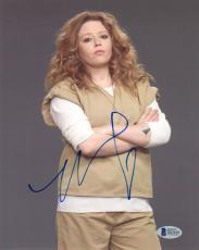 NATASHA LYONNE SIGNED 8x10 PHOTO NICKY ORANGE IS THE NEW BLACK OITNB BECKETT BAS