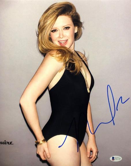 Natasha Lyonne Signed Esquire Magazine 11x14 Photo *Orange Is The New Black BAS
