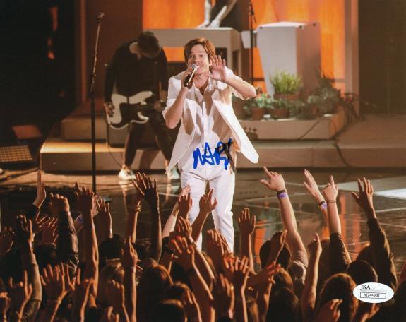 Nate Ruess Fun Singer Music Signed 8x10 Photo w/JSA COA