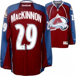 Nathan MacKinnon Colorado Avalanche Autographed Maroon Reebok Jersey