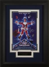 Christmas Vacation - Chevy Chase Autographed 11x17 Framed Po