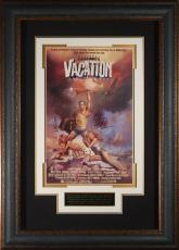 VACATION Chevy Chase Autographed 11x17 Poster Framed