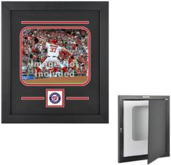 "Washington Nationals 8"" x 10"" Horizontal Setup Frame with Team Logo - Mounted Memories"