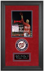 "Washington Nationals Deluxe 8"" x 10"" Team Logo Frame - Mounted Memories"