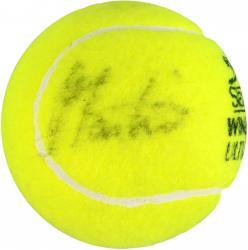 Martina Navratilova & Chris Evert Dual Autographed Wimbledon Logo Tennis Ball