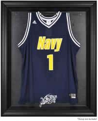 Navy Midshipmen Black Framed Logo Jersey Display Case - Mounted Memories
