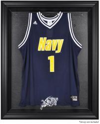 Navy Midshipmen Black Framed Logo Jersey Display Case