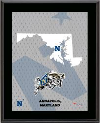"Navy Midshipmen Sublimated 10.5"" x 13"" State Plaque"