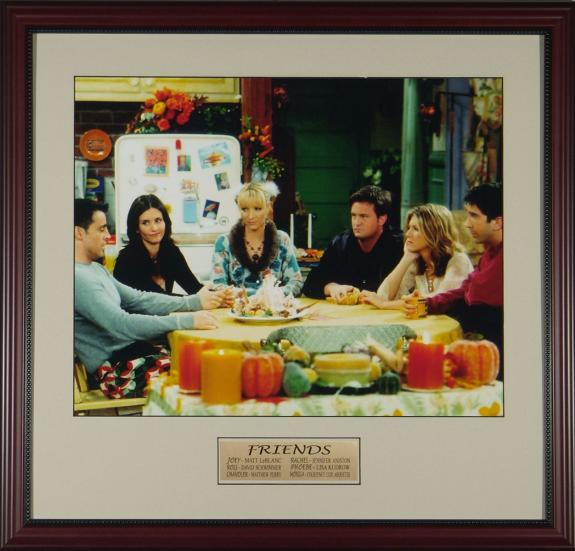 Friends Cast 16x20 Framed Photo Display