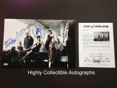 Ncis Complete Cast 7 Signed 12x18 Photo Psa Dna Coa Autograph Mark Harmon