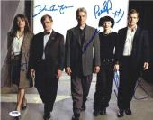 NCIS Harmon Perrette Weatherly McCallum Alexander Signed 11x14 Photo PSA/DNA