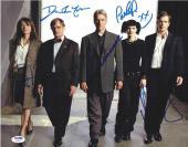 NCIS Harmon Perrette Weatherly McCallum Alexander Signed 11x14 Photo PSA/DNA