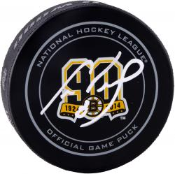 NEELY, CAM AUTO (BRUINS 90TH ANNIVERSARY) HOCKEY PUCK - Mounted Memories