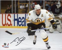 "Cam Neely Boston Bruins Autographed 8"" x 10"" White Horizontal Photograph"