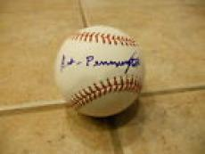 Negro Leagues ART SUPERMAN PENNINGTON Signed Autographed Official MLB Baseball