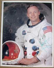 Neil Armstrong Apollo 11 signed 8x10 NASA Space Suit Photo PSA/DNA UNPERSONALIZE