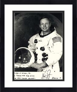 Neil Armstrong Apollo 11 Signed Autographed 8x10 Photograph Beckett BAS