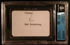 Neil Armstrong Apollo 11 Signed Autographed UD MASTERPIECE JSA Beckett AUTHENTIC