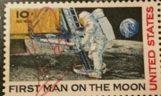 Neil Armstrong Apollo 11 Signed Postal Stamp Autograph AUTHENTIC JSA/BGS