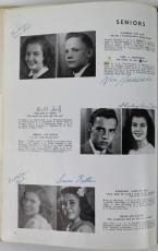 Neil Armstrong Signed 1947 Blume High School Yearbook PSA/DNA #P08522