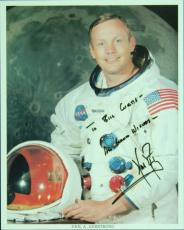 Neil Armstrong Signed 8x10 NASA Photo (PSA/DNA)