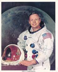 Neil Armstrong Signed 8x10 Photo Autograph Auto PSA/DNA Y04666