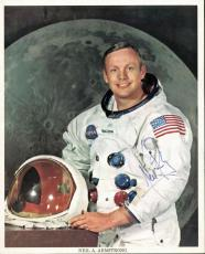 Neil Armstrong Signed Autographed 8x10 NASA Photo c. 1970 PSA/DNA Authentic