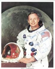 Neil Armstrong Signed Autographed 8x10 NASA Photo PSA/DNA Authentic