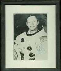 Neil Armstrong Signed Autographed 8x10 NASA Photograph Beckett BAS