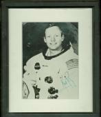 Neil Armstrong Signed Autographed 8x10 NASA Photograph Beckett BAS