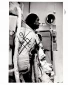 Neil Armstrong Signed - Autographed Apollo 11 Vintage NASA 8x10 inch Photo - Deceased 2012 - Guaranteed to pass PSA or JSA