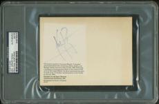 Neil Armstrong Signed Autographed Apollo XI 11 Lunar Postcard PSA/DNA