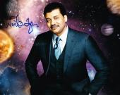 Neil Degrasse Tyson Signed 8x10 Photo Authentic Autograph Cosmos Proof Pic Coa A