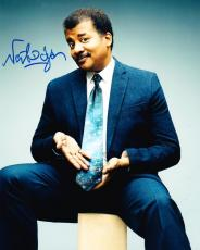 Neil deGrasse Tyson Signed 8x10 Photo Authentic Autograph Cosmos Proof Pic COA C
