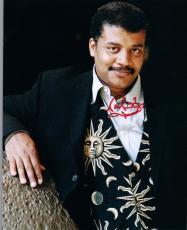Neil deGrasse Tyson Signed Autographed 8x10 Photo Astrophysicist COSMOS COA VD