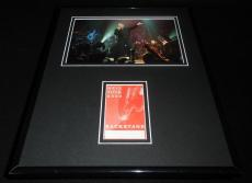 Neil Diamond 11x14 Framed 2002 Backstage Pass Ticket RP & Photo Display